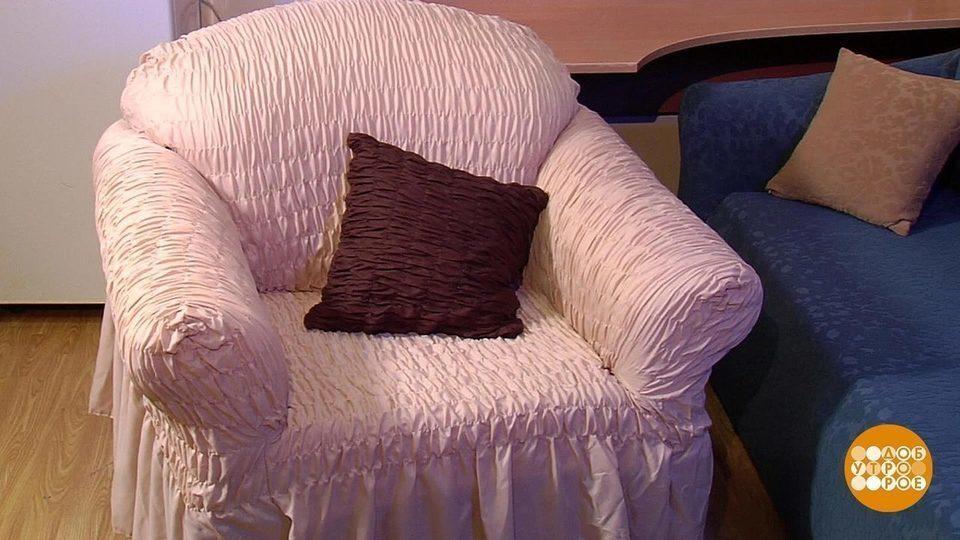 Накидка на диван своими руками Мебель своими рукакми 11