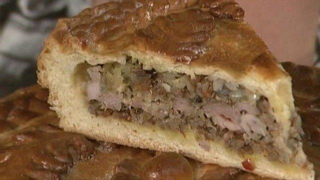 Рецепты пирогов со свининой