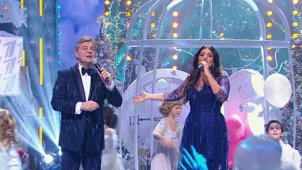 Лев лещенко и жасмин новый год