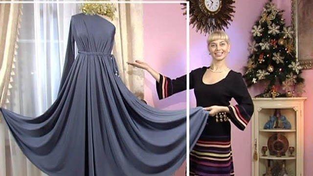 Сшить платье своими руками быстро с ольгой никишичевой