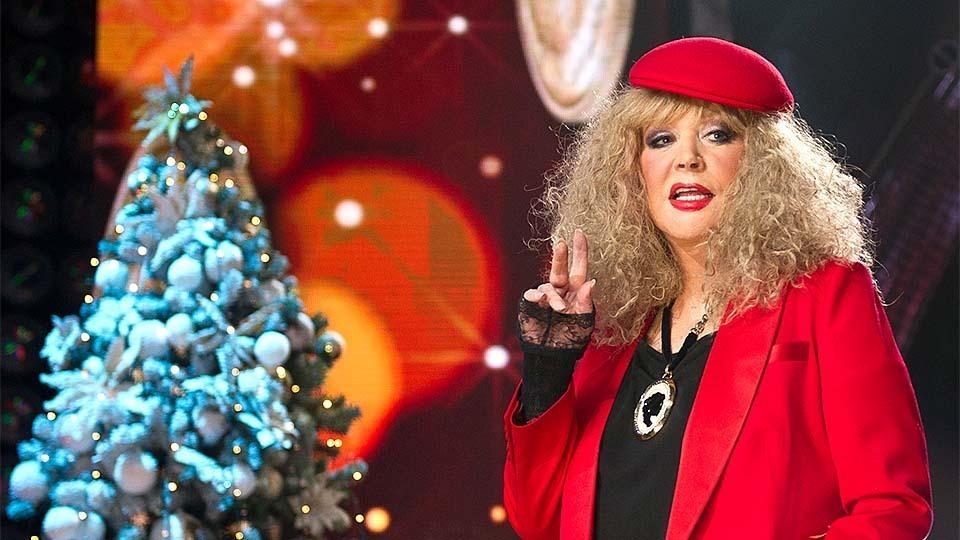Пугачева на 1 канале новый год