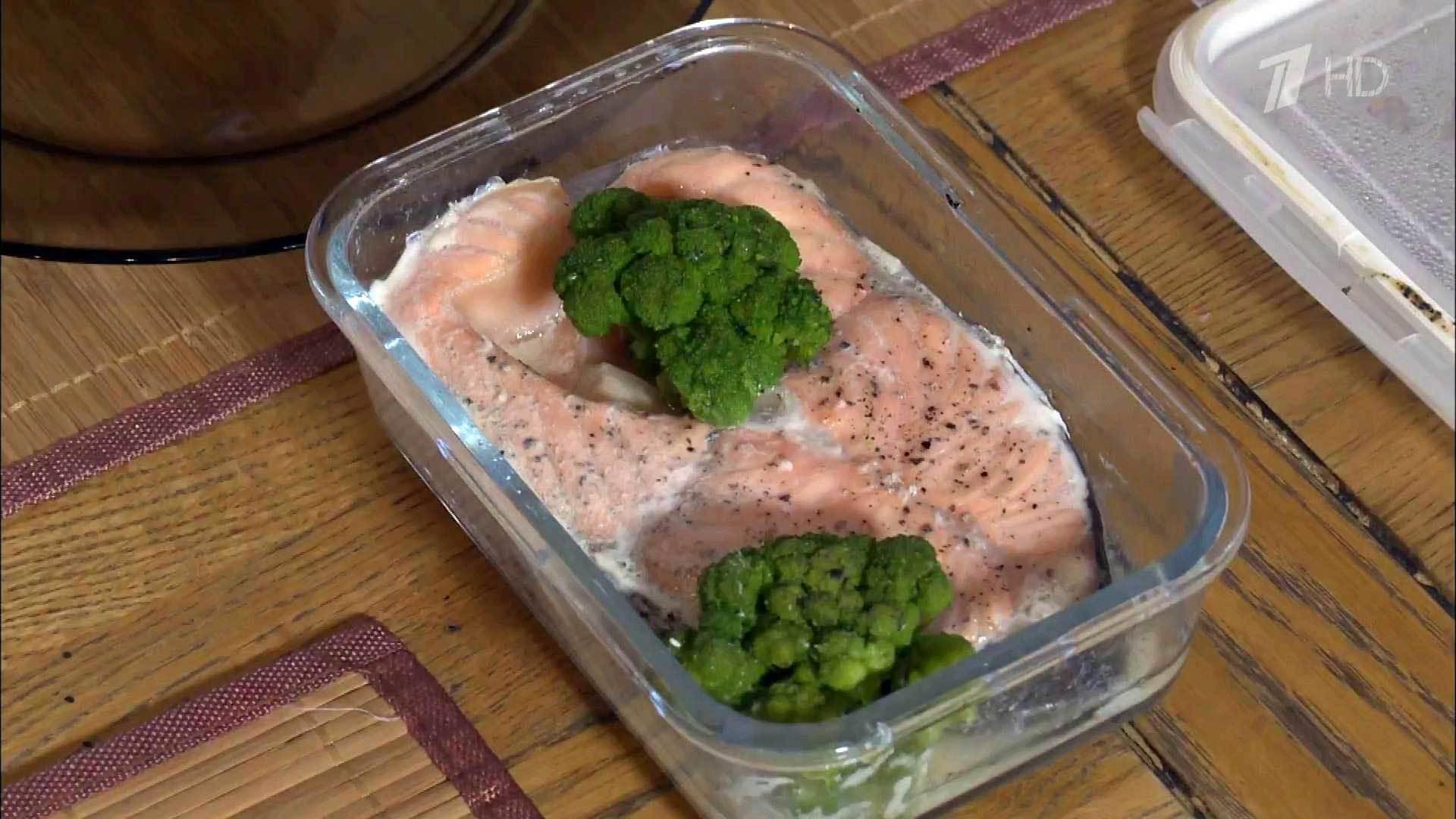 Рыба приготовленная в посудомоечной машине
