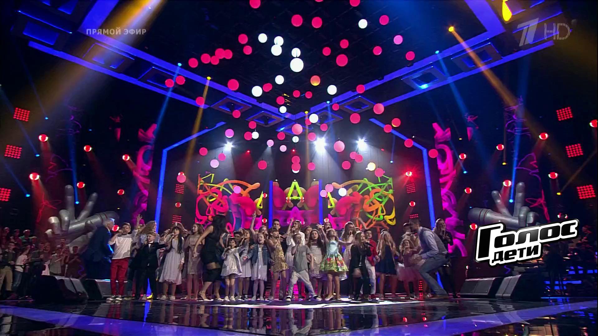 Все участники шоу голос дети фото
