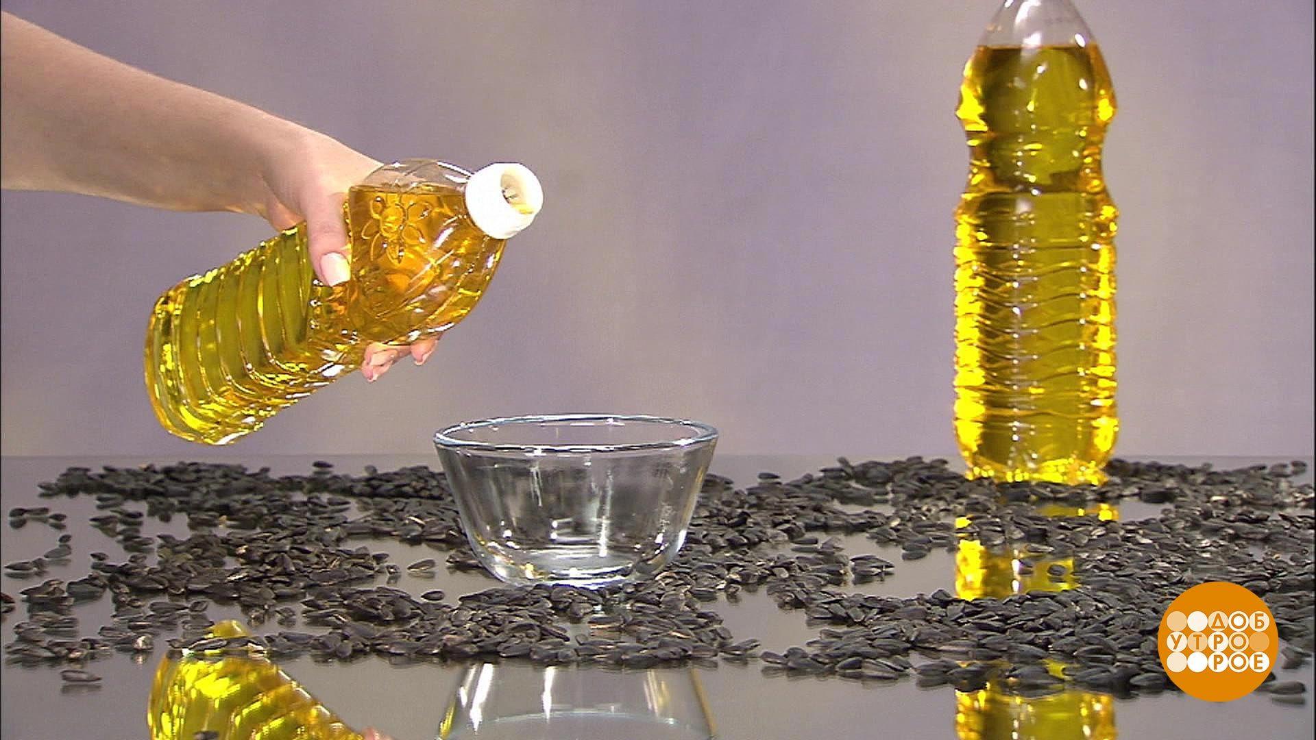 Подсолнечное масло в быту 48
