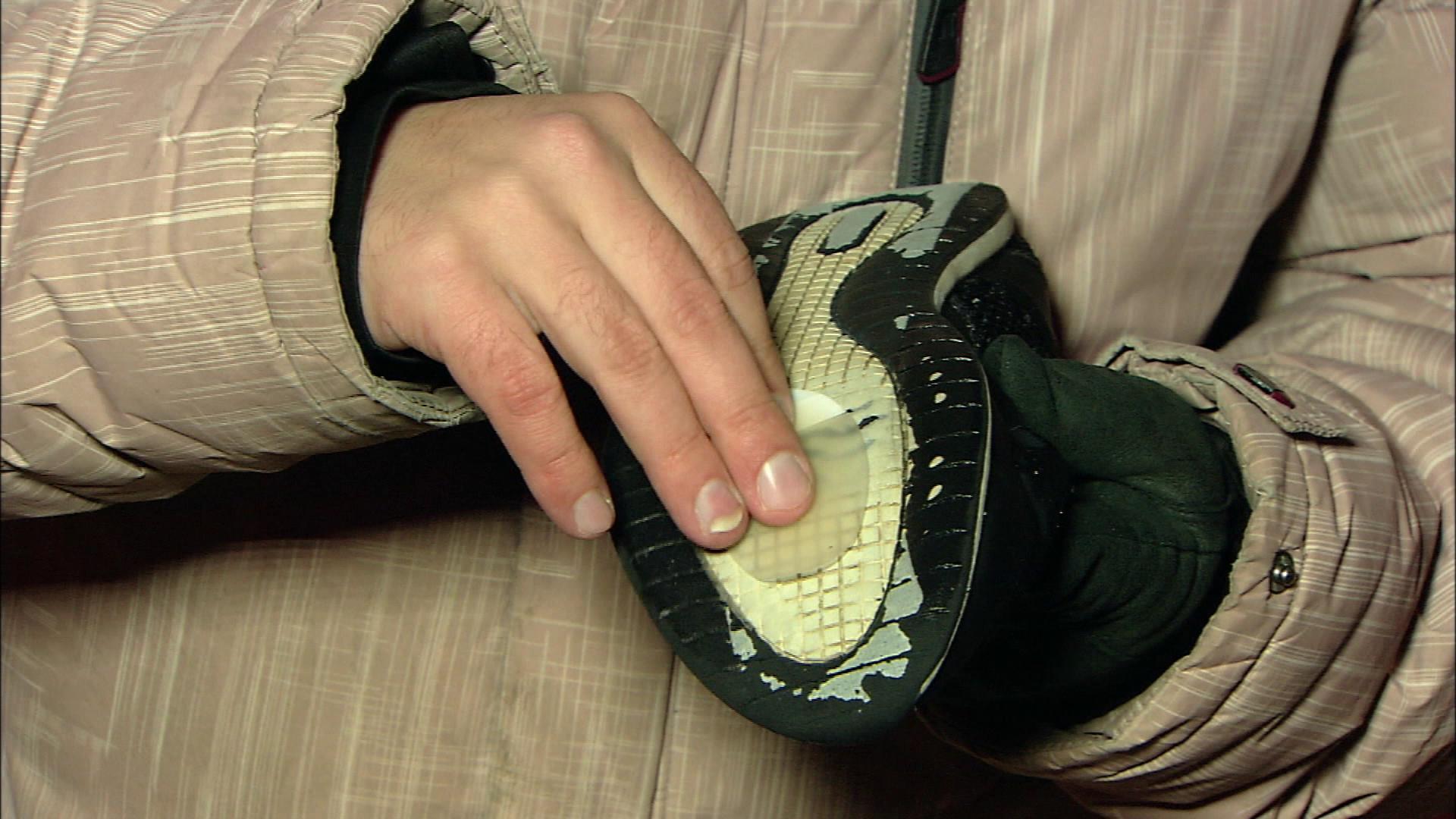 Как сделать подошвы обуви не скользящими