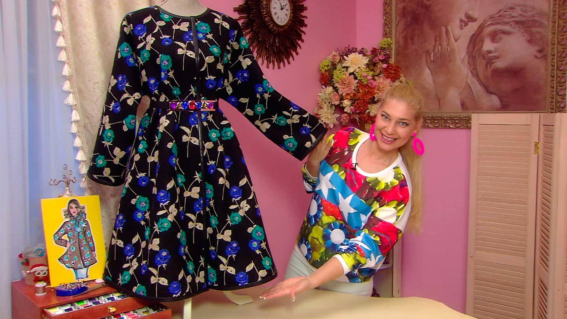 Как сшить летнее прямое платье своими руками для полных ольга никишичева