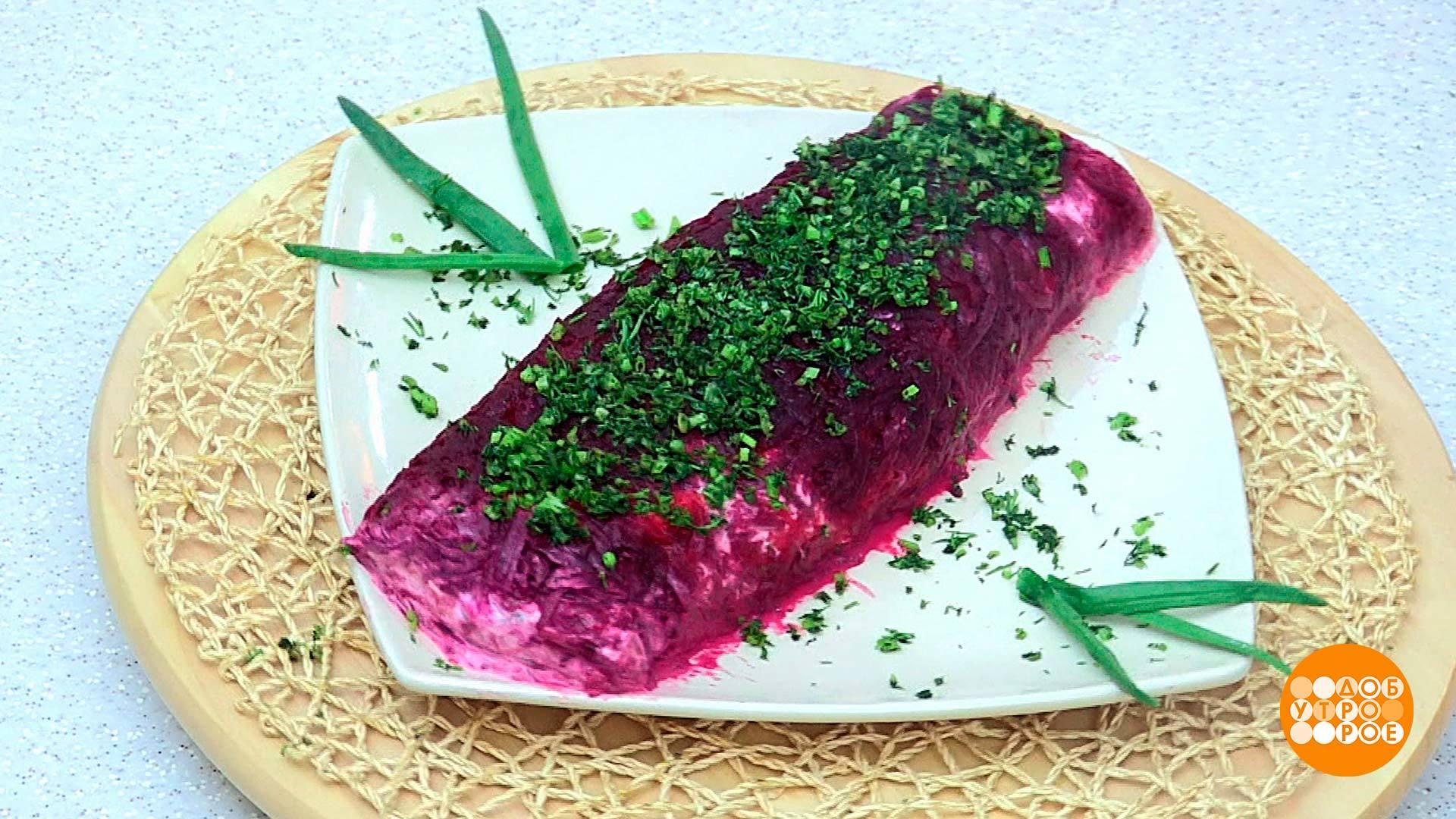 Обыкновенный салат селедка под шубой рецепт