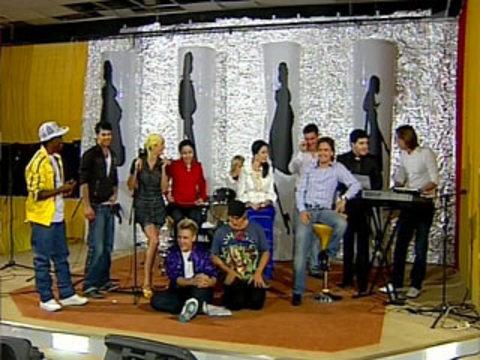 Конкурсы для пятерых участников