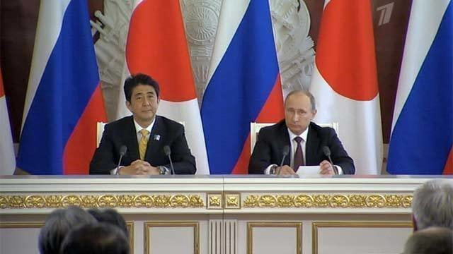 Современные отношения россии и японии