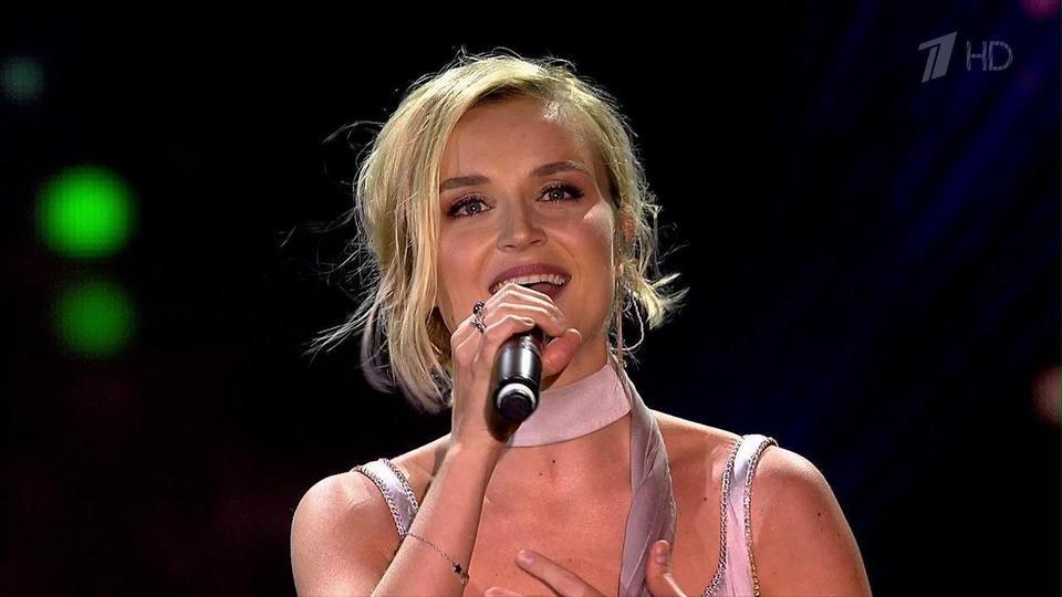 Выступление Полины на концерте к юбилею Людмилы Гурченко