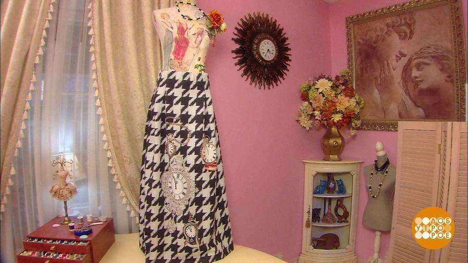 Прямая юбка от ольги никишичевой