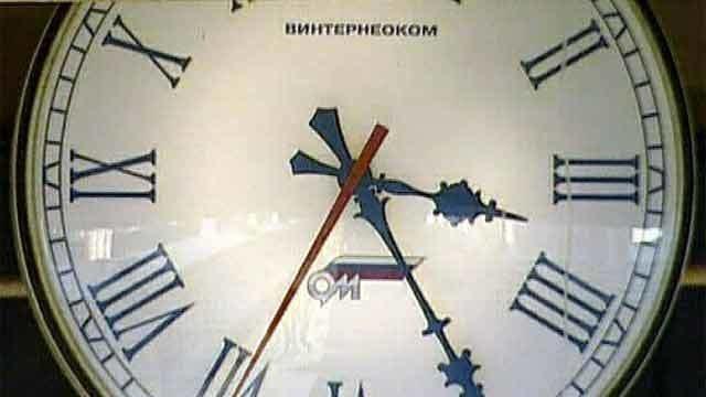 Время в россии довольно долго было непостоянным.