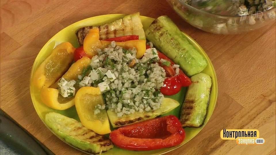 Салат из капусты с огурцо к шашлыку