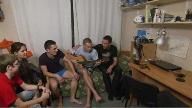 Студенты русское порнво