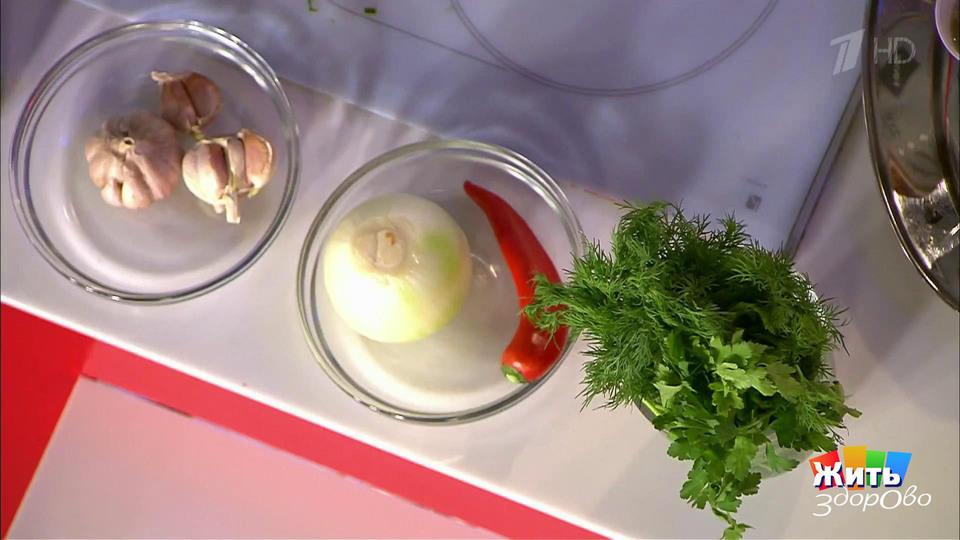 Жить здорово салат оливье