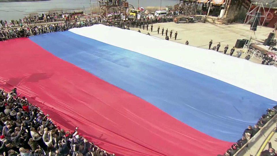 Крым отмечает годовщину воссоединения сРоссией концертами, выставками инародными гуляньями. Новости. Первый канал