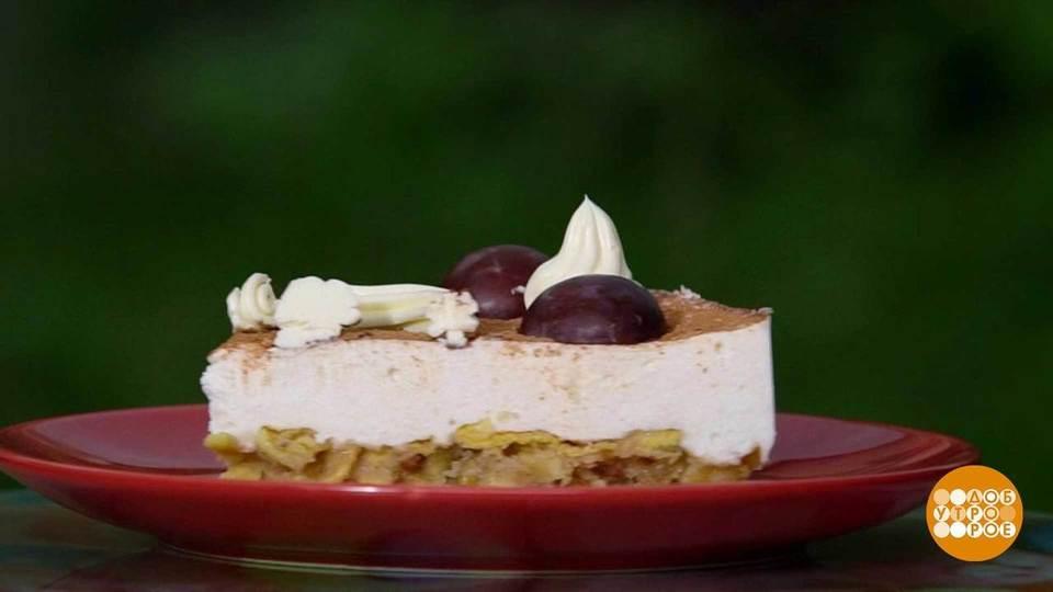 первый канал доброе утро рецепт торт со шпротами