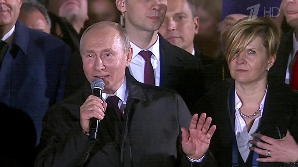 Владимира Путина вцентре Белграда встречали более 100 тысяч человек. Новости. Первый канал