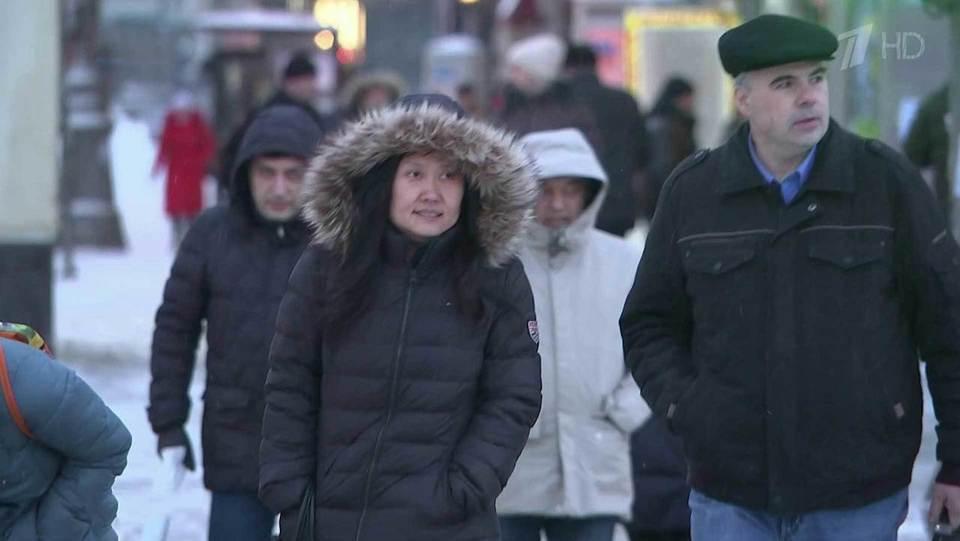 Минувшая ночь встоличном регионе стала самой холодной сначала года. Новости. Первый канал