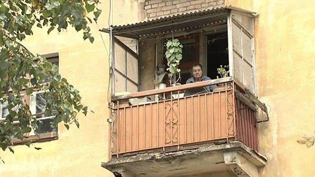 Инспектируем аварийные балконы.