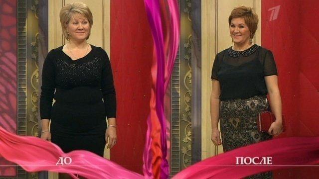модный приговор стрижки фото до и после платье