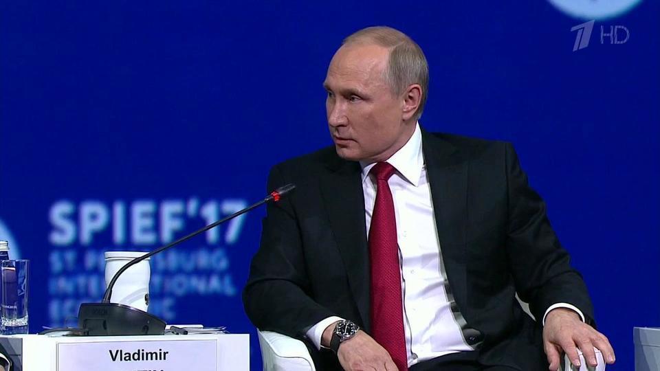 Владимир Путин: Россия готова сотрудничать сНАТО всфере борьбы сосновными угрозами, прежде всего стерроризмом. Новости. Первый канал