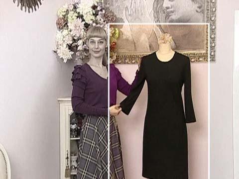 Как сшить платье с первым каналом
