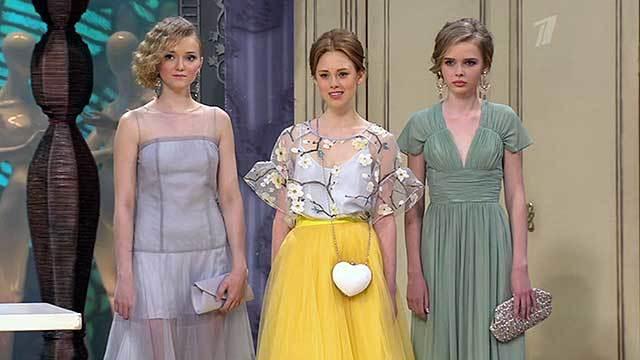 Фото платьев с модного приговора