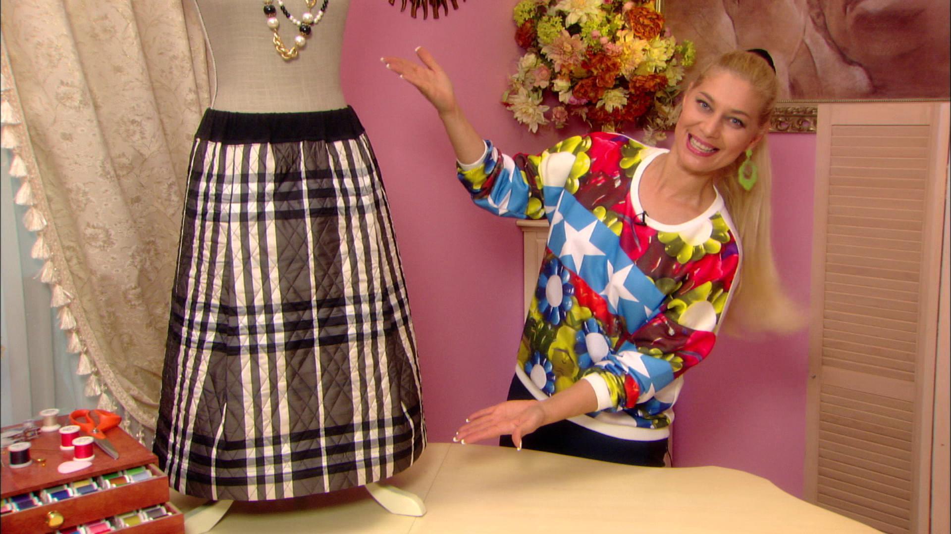 Никишичева юбка на кокетке
