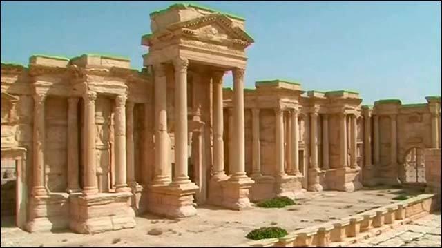 Исламисты вСирии разрушили главный храм Пальмиры. Новости. Первый канал