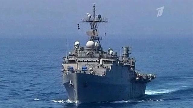 Баллистические ракеты вСредиземном море всторону Сирии запустил Израиль. Новости. Первый канал