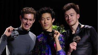 Церемония награждения. Мужчины. Skate America. Гран-при пофигурному катанию 2019/20