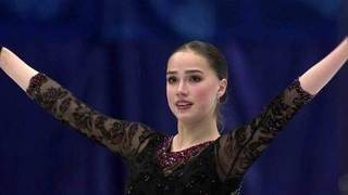 Алина Загитова. Короткая программа NHK Trophy. Гран-при по фигурному катанию 22.11.2019 смотреть онлайн
