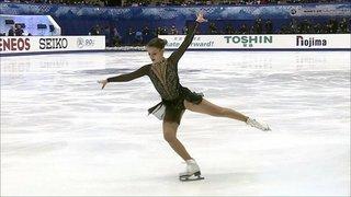 Софья Самодурова. Произвольная программа. Женщины. NHK Trophy. Гран-при пофигурному катанию 2019/20