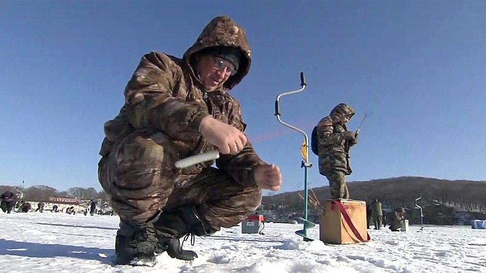 Зимняя рыбалка на кондурче
