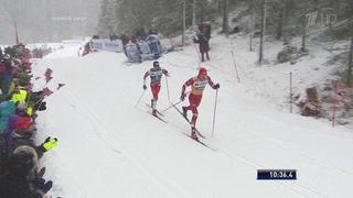 Мужчины. 30 км. Гонка преследования. Лыжные гонки. Ски Тур. Кубок мира 2019/2020