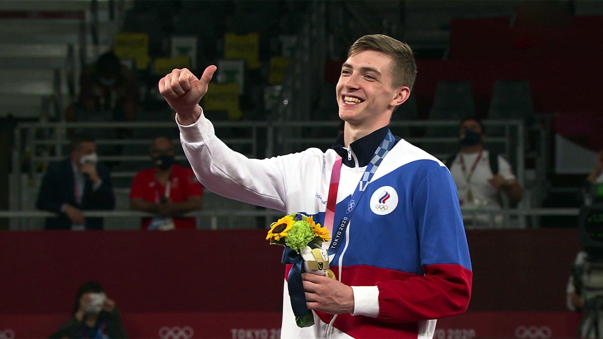 Три золотых медали задень завоевала российская сборная наОлимпийских играх вТокио