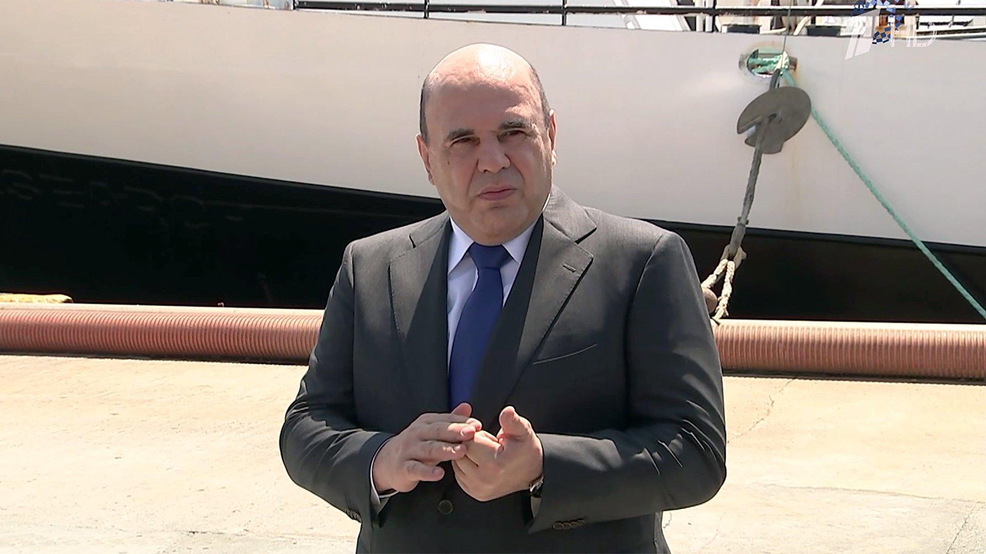 Премьер Михаил Мишустин прибыл наИтуруп, где говорил оразвитии дальних территорий