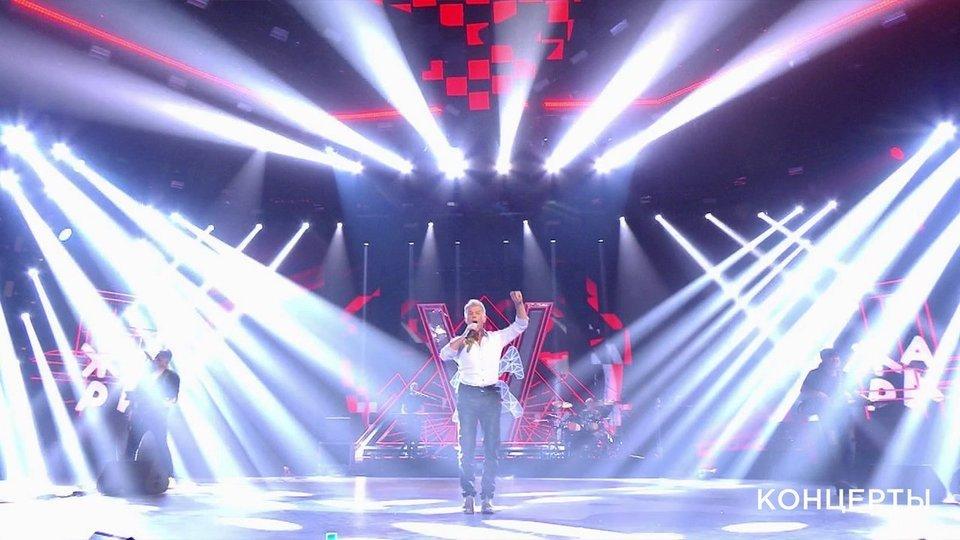 Музыкальный фестиваль «Жара» вМоскве. Юбилейный вечер Олега Газманова