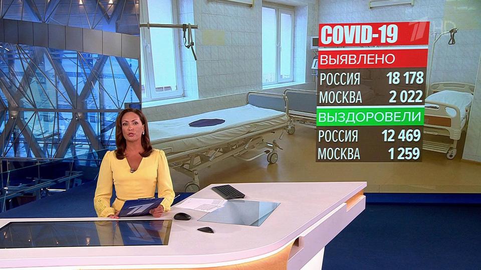 ВРоссии засутки выявили 18 178 новых случаев COVID-19