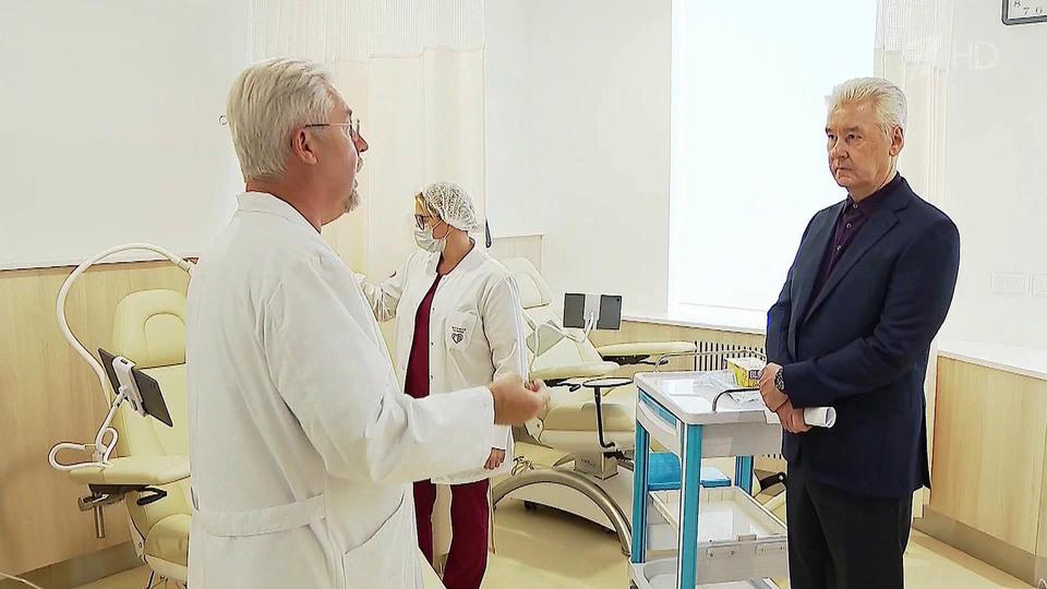Вреконструированном корпусе Боткинской больницы открывается Центр амбулаторной онкологической помощи