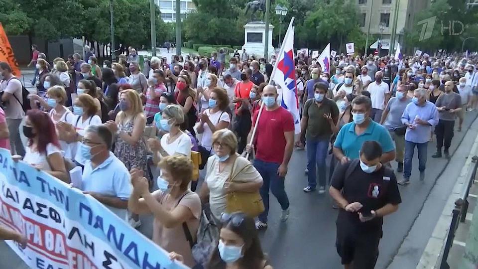 ВЕвропе продолжается волна протестов против антиковидных пропусков
