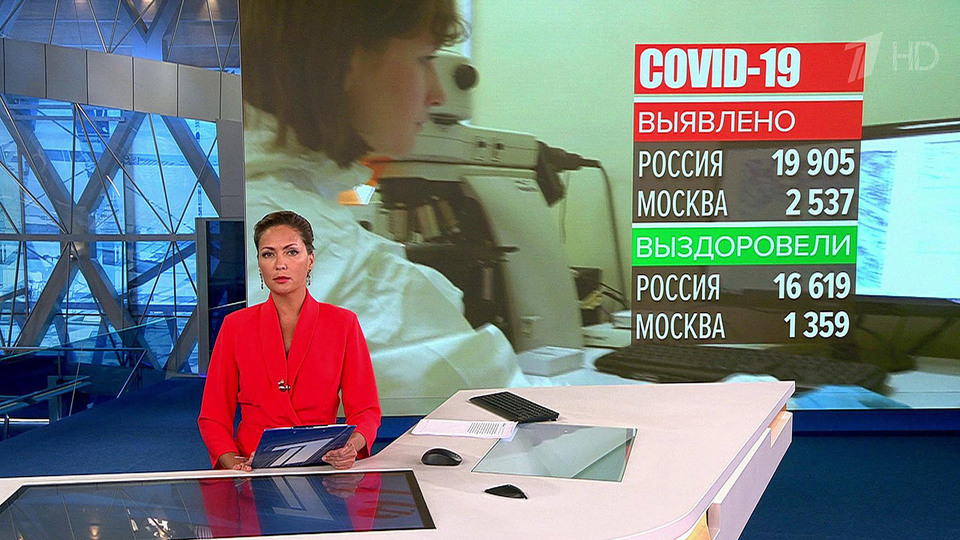 ВРоссии выявили 19 905 новых случаев COVID-19