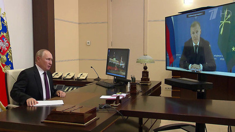 Глава Республики Адыгея доложил президенту осоциально-экономической ситуации врегионе
