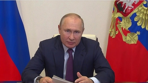 Владимир Путин провел видеовстречи спредставителями кабмина илидерами списка «Единой России»