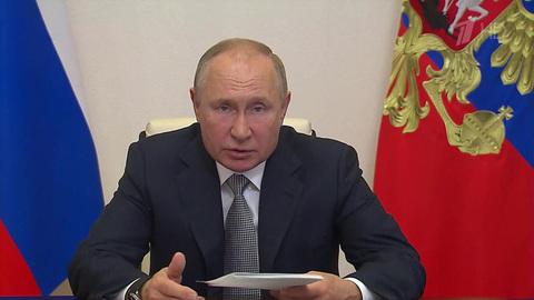 Транспортную стратегию страны обсуждает Владимир Путин назаседании президиума Госсовета
