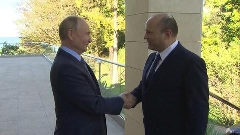 Владимир Путин принял вСочи главу израильского правительства Нафтали Беннета