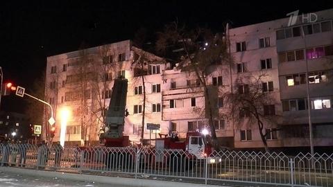 ВНабережных Челнах врезультате взрыва газа частично обрушились два этажа жилой пятиэтажки