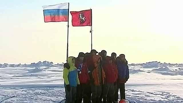 прямая тронслятцыя с камеры на северном полюсе