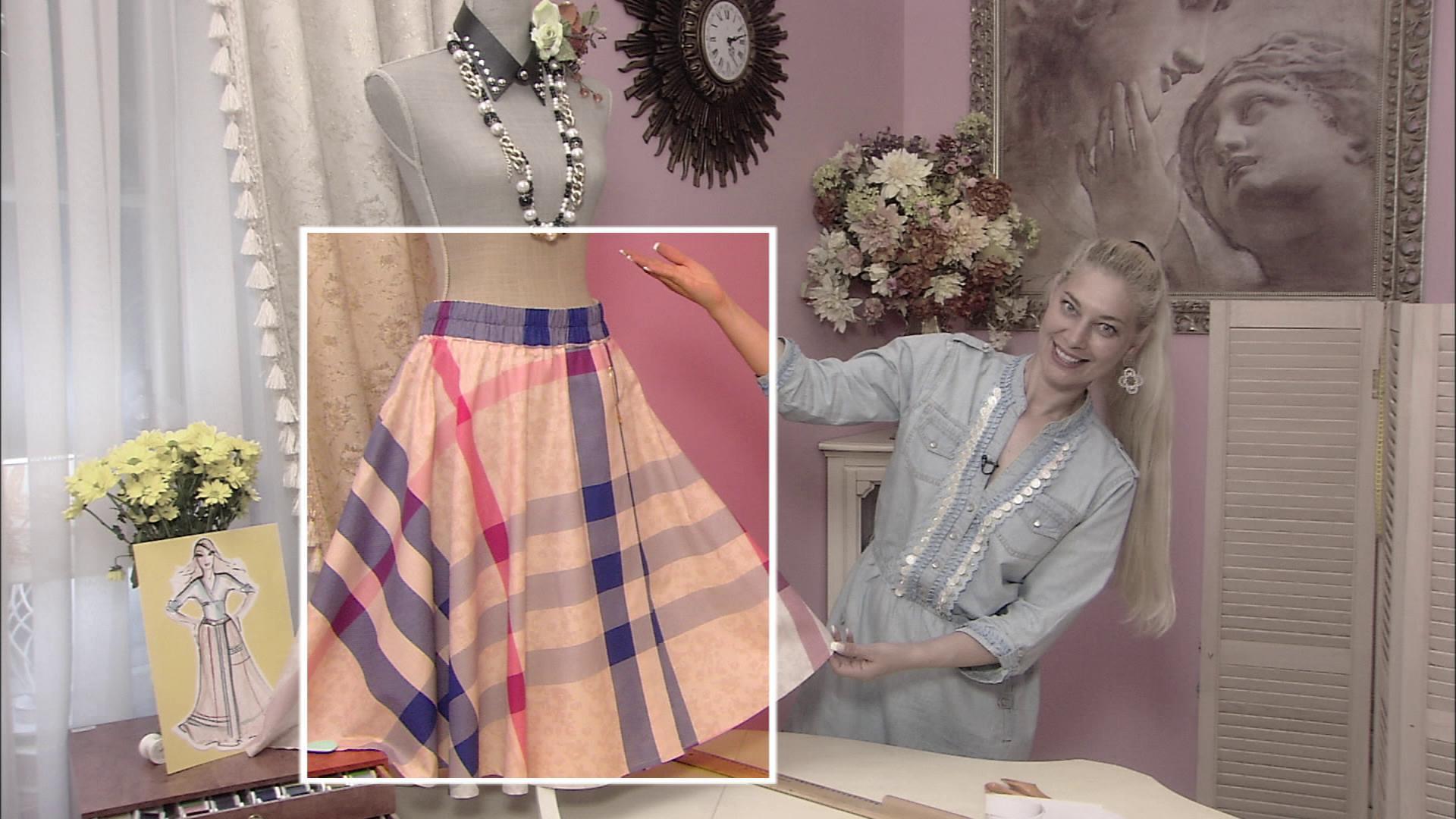 Ольга никишичева юбка с запахом видео